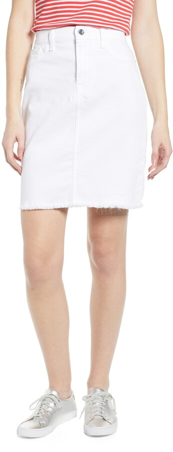 0a66d0140 Denim Pencil Skirt Stretch - ShopStyle