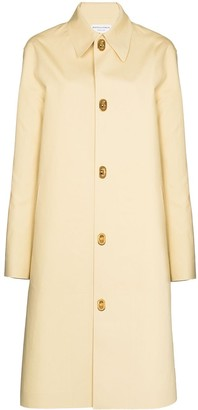 Bottega Veneta Single-Breasted Cotton Coat