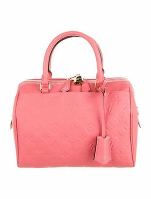 Louis Vuitton Empreinte Speedy Bandouliere 25 Pink