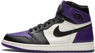 Jordan Air 1 Retro 'Court Purple' Shoes - Size 8