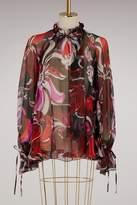 Emilio Pucci Aruba printed silk shirt