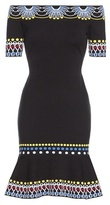 Peter Pilotto Knitted Off-the-shoulder Dress