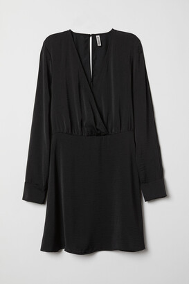 H&M V-neck dress