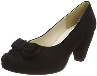Andrea Conti Women's 1005718 Closed Toe Heels, Black (Schwarz 002)