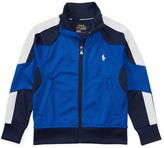 Ralph Lauren Pure Sapphire Piqué Track Jacket - Toddler