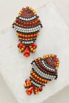 Elizabeth Cole Anemone Drop Earrings