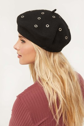 Ardene Eyeleted Wool Beret