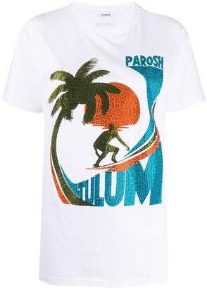 P.A.R.O.S.H. logo print T-shirt