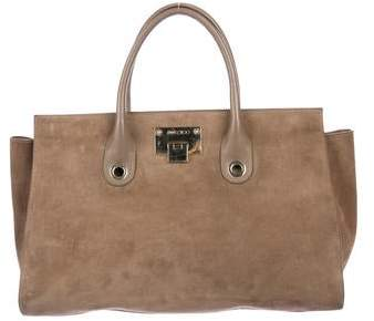 3acdac2346 Jimmy Choo Suede Tote Bags - ShopStyle