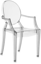 Kartell Louis Ghost Armchair - Smoke Grey