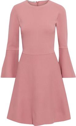 Stella McCartney Flared Ponte Mini Dress