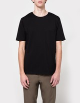 Lemaire Pocket Tee Shirt in Black