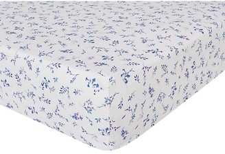 Anne De Solène Melodie 200 Thread Count Floral Fitted Sheet