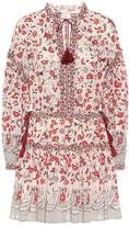 Ulla Johnson Marigold floral cotton minidress