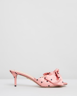 Charlotte Olympia Bow Mules