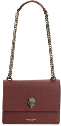 Kurt Geiger Shoreditch Leather Crossbody Bag