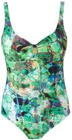 Lygia & Nanny - abstract print swimsuit - women - Polyamide/Spandex/Elastane - 46