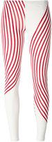 MM6 MAISON MARGIELA striped leggings - women - Spandex/Elastane/Viscose - XS