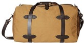 Filson Small Duffle Bag (Tan 1) Duffel Bags