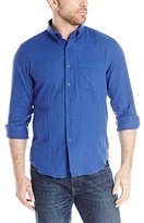 Naked & Famous Denim Men's Regular Shirt In Slub Double Gauze
