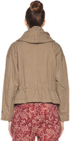 Etoile Isabel Marant Gilly Cotton Canvas Jacket in Ficelle