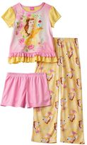 Disney Princess Belle Girls 4-8 Pajama Set