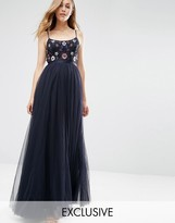 Needle & Thread Embellished Folk Midi Dress