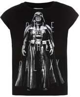 Gap SLIT Print Tshirt true black