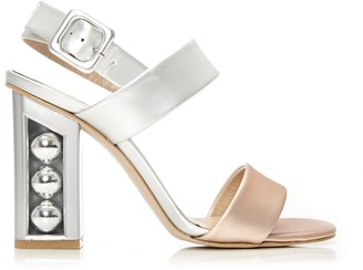 Moda In Pelle Shore Metallic Leather