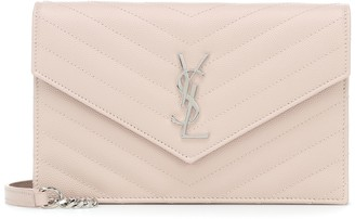 Saint Laurent Envelope Small leather shoulder bag