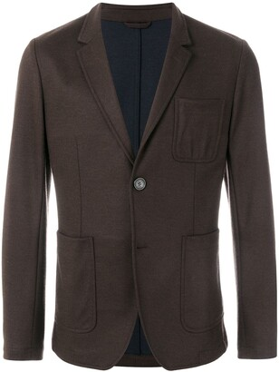 Ami Unlined Soft Two Buttons Jacket
