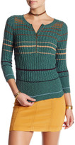 Free People Stripped Rosi Rib Pullover