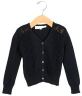 Tartine et Chocolat Girls' Knit Long Sleeve Cardigan w/ Tags