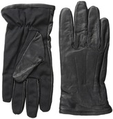 Scotch & Soda Leather Glove with Canvas Part