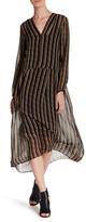 MiH Jeans Cornflower Silk Maxi Dress