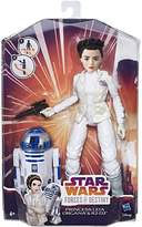Star Wars Princess Leia and R2-D2 Figure Set, Black