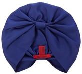 Valentino Pleated silk-twill turban hat