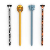 Kikkerland Safari Pencils - Set of 3