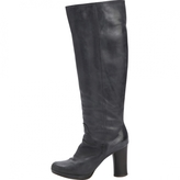 Chloé Grey Leather Boots