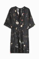 Isabel Marant Odena Silk Mini Dress