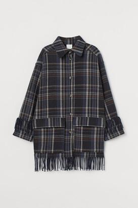 H&M Fringed shacket