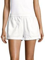 BCBGMAXAZRIA Solid Four-Pocket Shorts