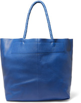 Maje Textured-leather tote