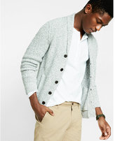 Express Marled Shaker Knit Cardigan