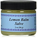 WiseWays Herbals Salves for Natural Skin Care, Lemon Balm Salve 2 oz