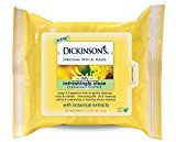 Dickinson's Refreshingly Clean Cleansing Cloths, 25 Count