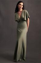 Thumbnail for your product : BHLDN Leila Satin Charmeuse Maxi Dress