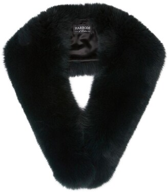 Harrods Fox Fur Roll Collar