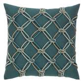 Elaine Smith Lagoon Rope Accent Pillow