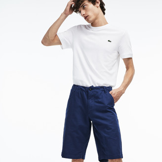 Lacoste Men's Regular Fit Cotton And Linen Shorts